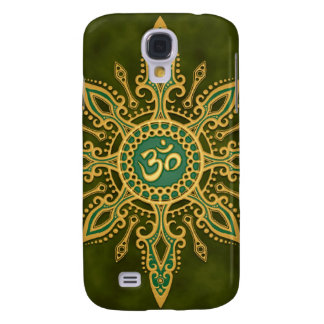 Green Om Star Samsung Galaxy S4 Cover