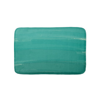 Green Ombre bath Mat