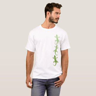 Green Ombre Gecko Trio T-Shirt