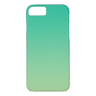 Green Ombre iPhone 7 Case