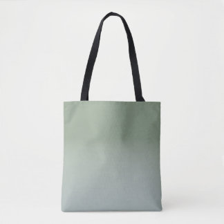 Green Ombre Tote Bag #holidayZ
