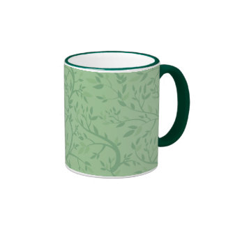 Green on Green Branches Coffee Mug