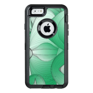 Green Oval Art Deco OtterBox iPhone 6/6s Case