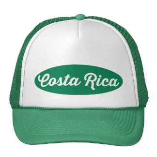 Green Oval Costa Rica Logo Hat