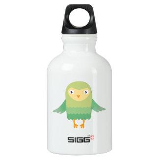 Green owl cartoon SIGG traveller 0.3L water bottle