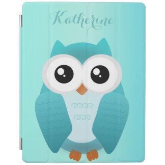 Green Owl ipad cover