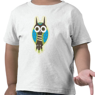 Green Owl Toddler's Shirt