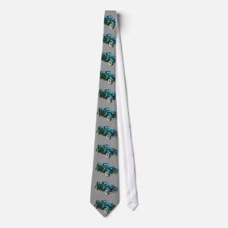 Green Packard Luxury Car Tie