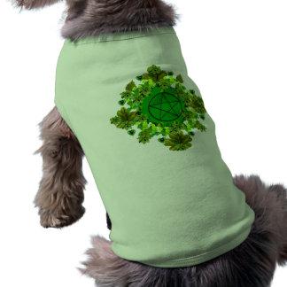 Green Pagan Sleeveless Dog Shirt