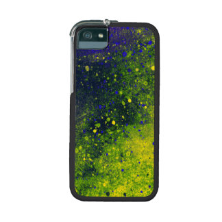 Green Paint Splatter Texture Case for iPhone 5 5