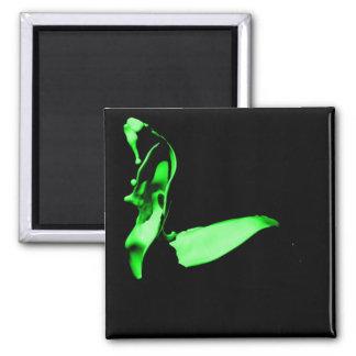 Green Paint Toss Magnet