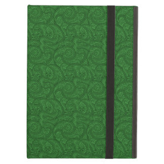Green Paisley Cover For iPad Air