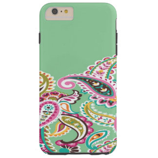 Green Paisley iPhone 6s/Plus Case Tough