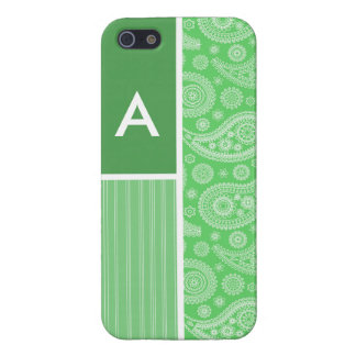 Green Paisley iPhone 5 Covers