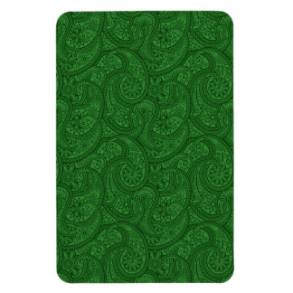 Green Paisley Magnet