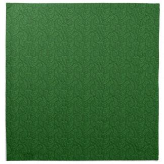 Green Paisley Napkin