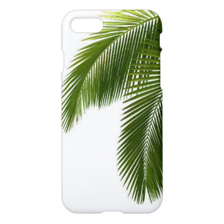 Green palm leaves iPhone 7 case