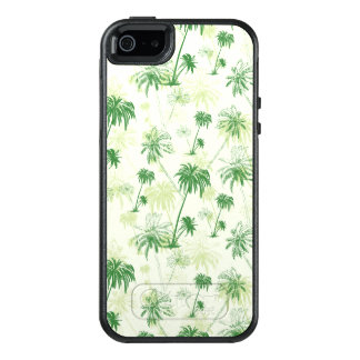 Green Palm Tree Pattern OtterBox iPhone 5/5s/SE Case