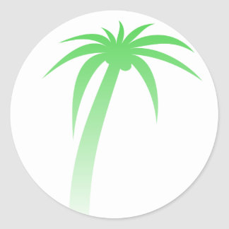 Green Palm Tree Sticker