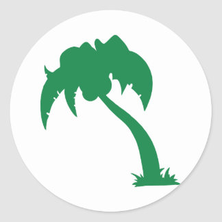 Green Palm Tree Stickers