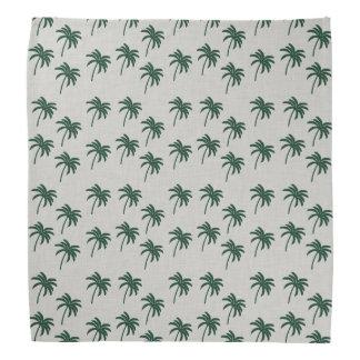 Green Palm Trees Bandana