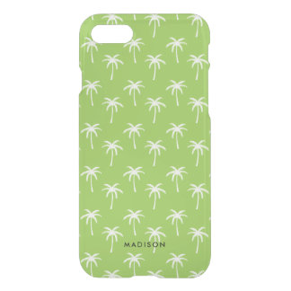 Green Palm Trees Pattern iPhone 8/7 Case