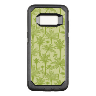 Green Palm Trees Pattern OtterBox Commuter Samsung Galaxy S8 Case