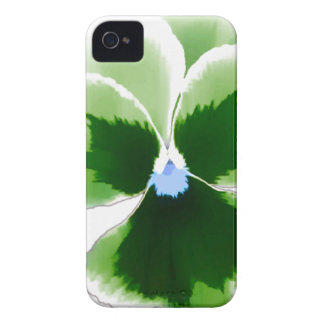 Green Pansy Flower 201711d iPhone 4 Covers