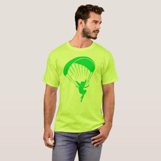 Green Paragliding Pixie Tshirt