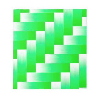 Green Parquet Notepad