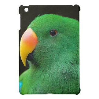 Green Parrot Profile iPad Mini Cover
