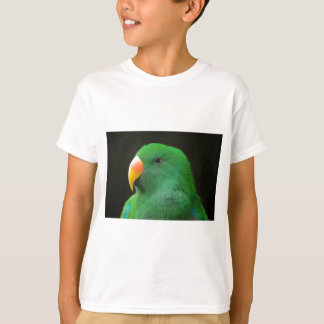 Green Parrot Profile T-Shirt