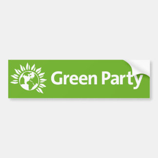 Green Party of England and Wales Bumper Sticker