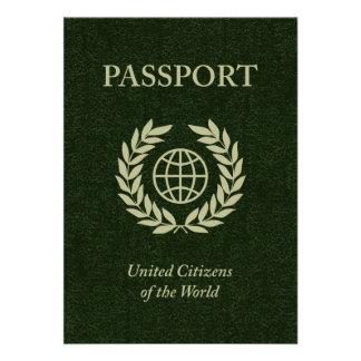 green passport invitations