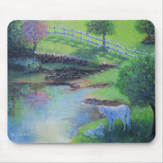 Green Pastures Mouse Pad