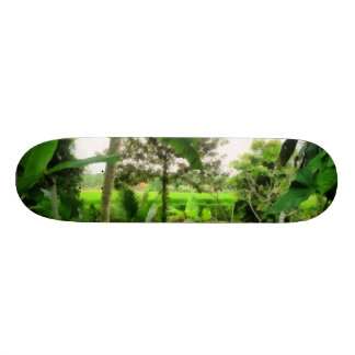 Green patch and fields skate board decks