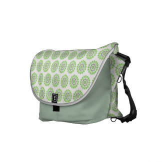 Green Pattern bag Courier Bags