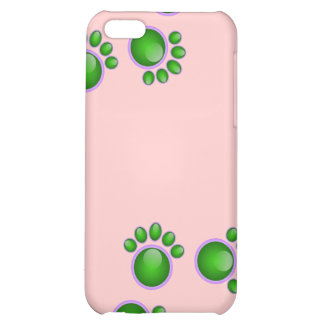 Green Paw iPhone Case iPhone 5C Cover