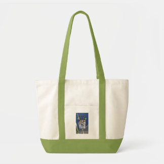 Green Paws Service Dog Tote Bag