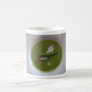 Green Pea Soup Mug