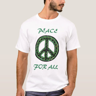 green peace for all tee