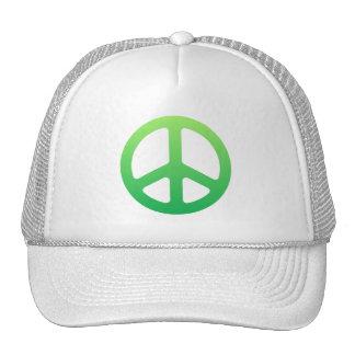 Green Peace Sign Cap