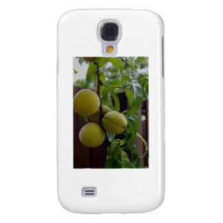 Green Peach Notecards Galaxy S4 Covers