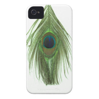 Green Peacock Feather iPhone 4 Covers