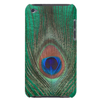 Green Peacock Feather iPod Touch Barely There Case