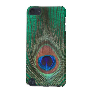 Green Peacock Feather iPod Touch Speck Case