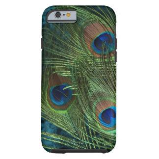 Green Peacock Feather Tough iPhone 6 Case