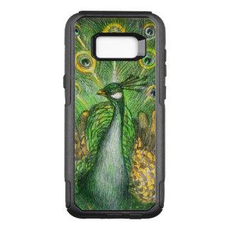 Green Peacock OtterBox Commuter Samsung Galaxy S8+ Case