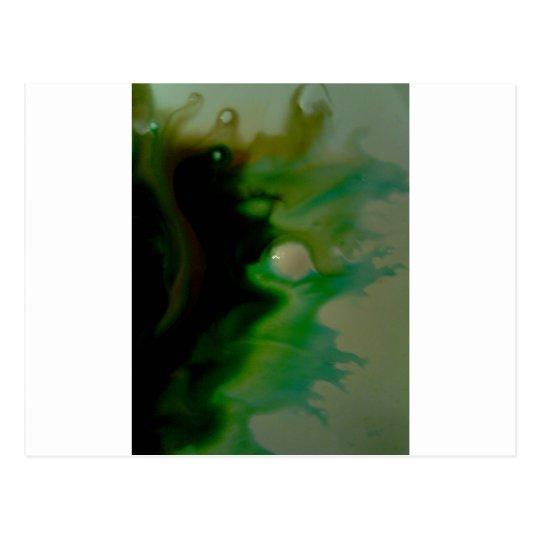 Green Pearl Postcard