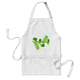 Green Peas Apron